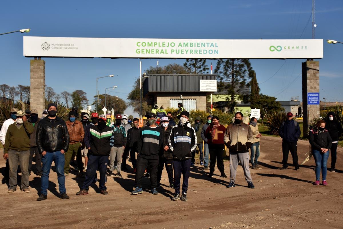 Basural: sin avances, se retoma el corte y la protesta de los recuperadores