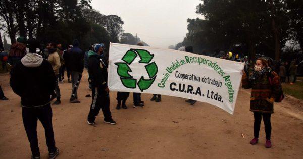 Basural: el gobierno nacional avaló los protocolos de recuperadores y recicladores
