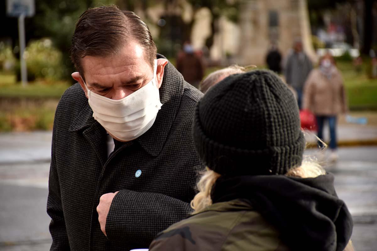 """Montenegro y la situación sanitaria: """"La capacidad de respuesta está bien"""""""