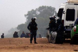 Basural: sin respuestas para los recuperadores, fuerte despliegue de policías