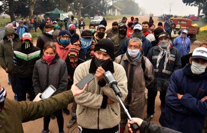 PROTESTA CORTE BASURAL RECICLADORES MAR DEL PLATA (2)