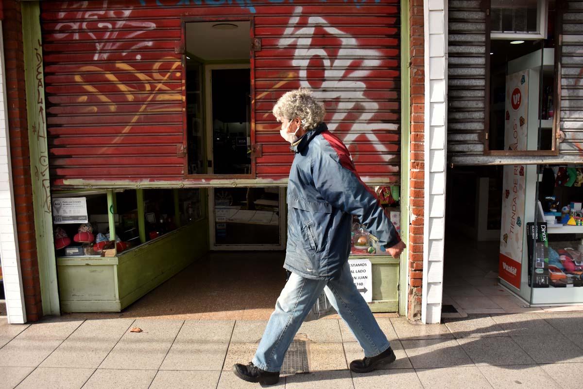 Un nuevo día de reclamo de comerciantes minoristas en Mar del Plata