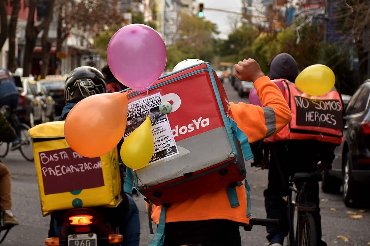 Se aprobó la ley que regula las app de delivery