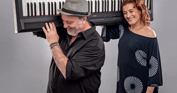 Tango solidario: Luis Reales y Karina Levine en un show virtual a beneficio de comedores