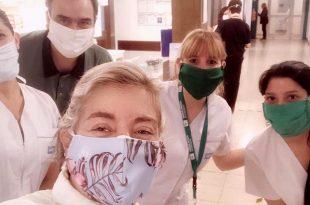 La periodista Gabriela Azcoitia tuvo coronavirus y se recupera en su casa