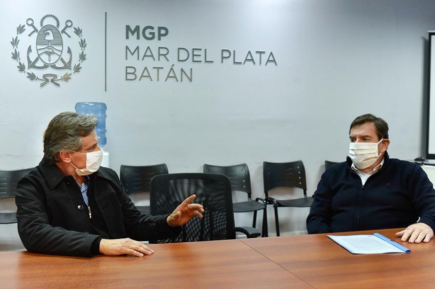 Pulti se reunió con Montenegro y le entregó un documento con diez propuestas