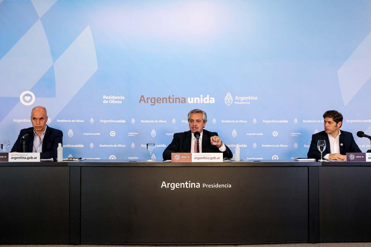 Cuarentena: Alberto Fernández realizará hoy nuevos anuncios