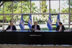 Continuidad de la cuarentena: Alberto Fernández sólo hizo anuncios para el AMBA