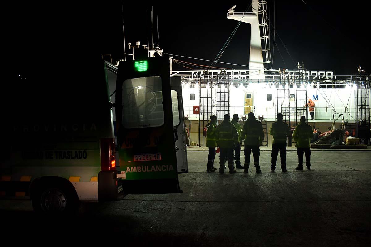 Coronavirus en el Puerto: dos buques, seis casos positivos y 21 trabajadores aislados