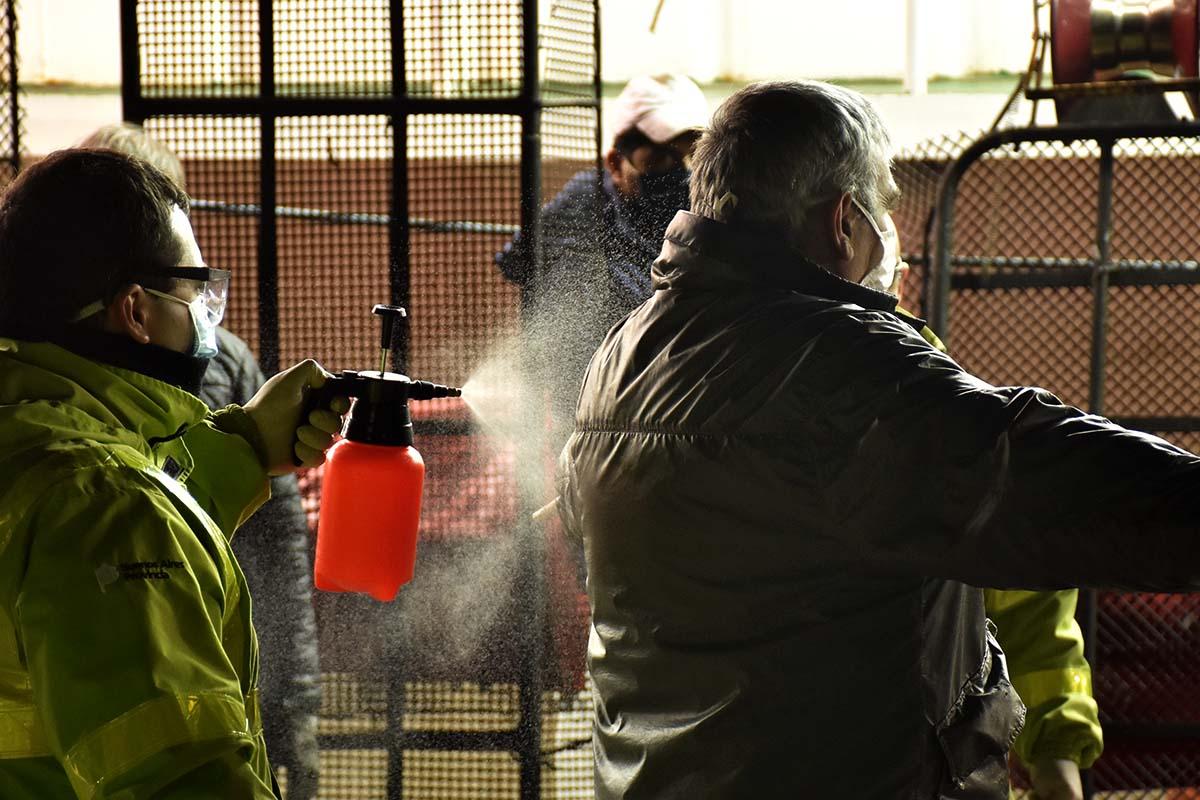 Otros 20 trabajadores de la pesca viajaron con el obrero infectado con coronavirus