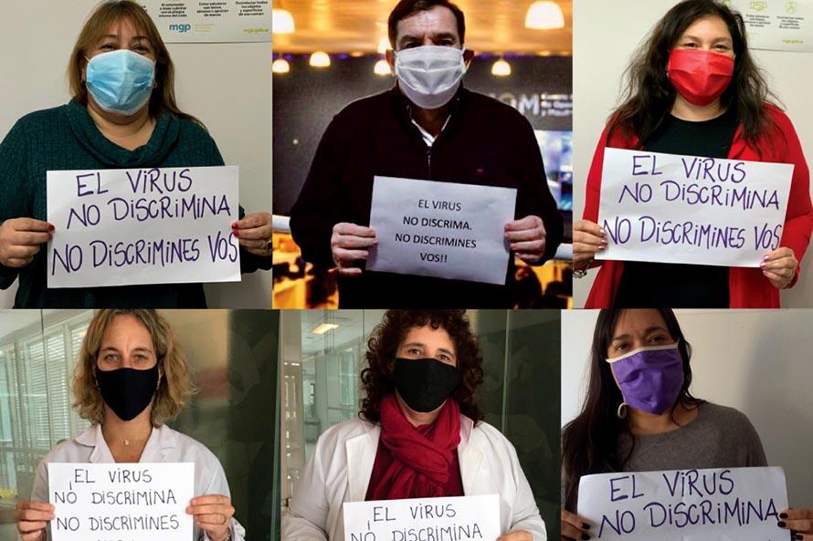 """""""El virus no discrimina, no discrimines vos"""", una campaña de concientización del Municipio"""