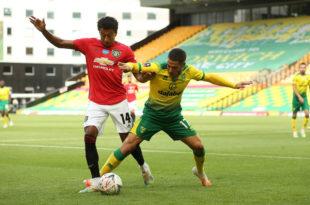 FA Cup: con Buendía como titular, Norwich fue eliminado por Manchester United