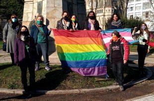 Día del Orgullo: por primera vez, la Municipalidad izó la bandera de la diversidad