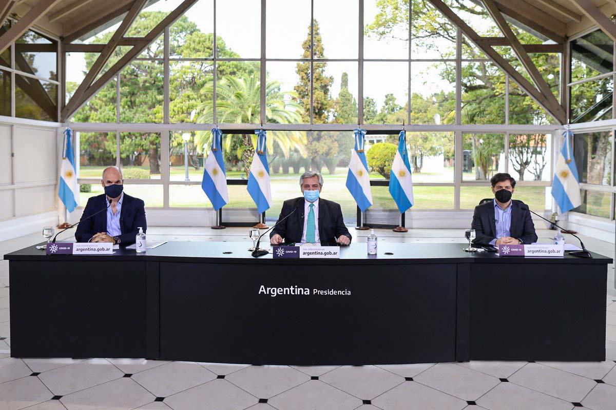 Alberto Fernández anunció que la cuarentena sigue hasta el 16 de agosto