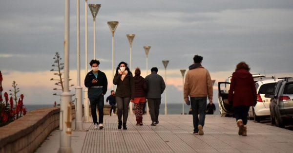 Fin de semana frío y ventoso: cómo sigue el tiempo en Mar del Plata