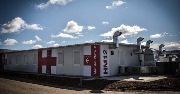 Inauguran el hospital modular con Alberto Fernández por videoconferencia