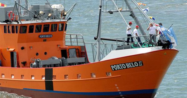 Un tripulante del pesquero marplatense Porto Belo II murió a bordo