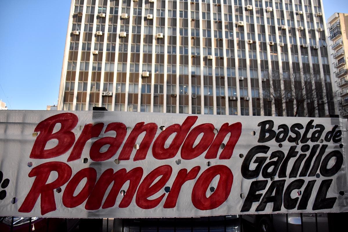 Brandon Romero: se negó a declarar el joven que iba en la moto y quedó en libertad