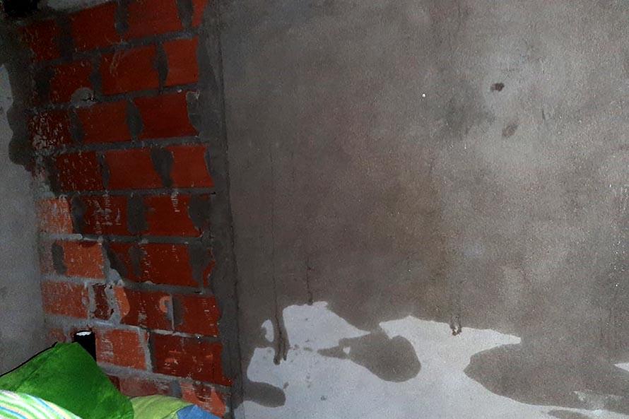 Lluvia y temporal en barrio Caribe: una colecta y pedidos por serios problemas habitacionales