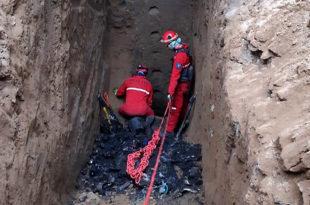 Terminaron la excavación sin rastros de Fernando Lario