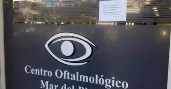 Centro Oftalmológico: los testeos a contactos estrechos dieron negativo