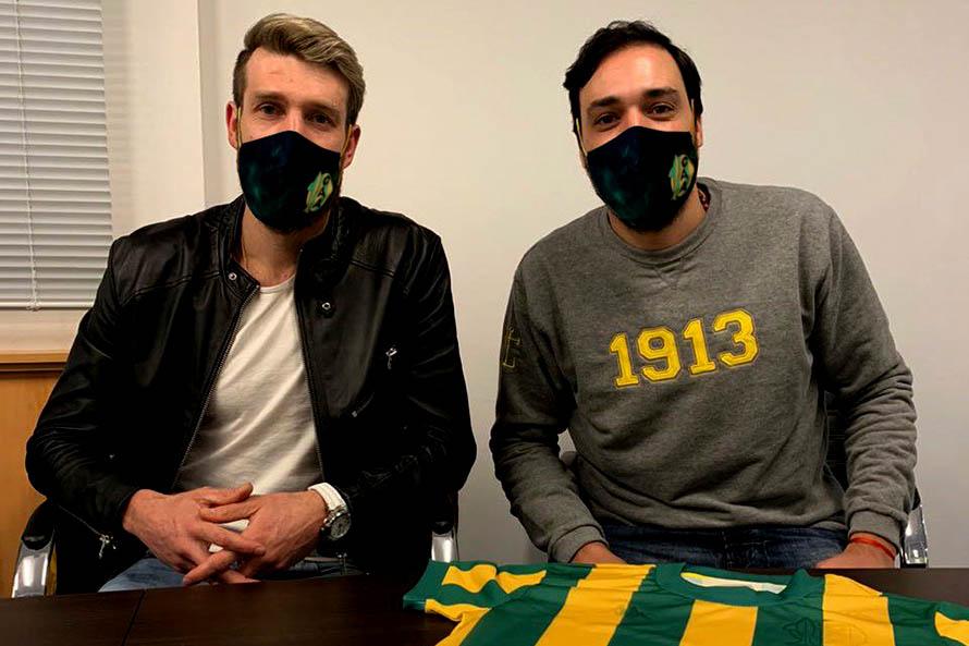 Aldosivi confirmó la contratación de Jonathan Schunke - Qué digital