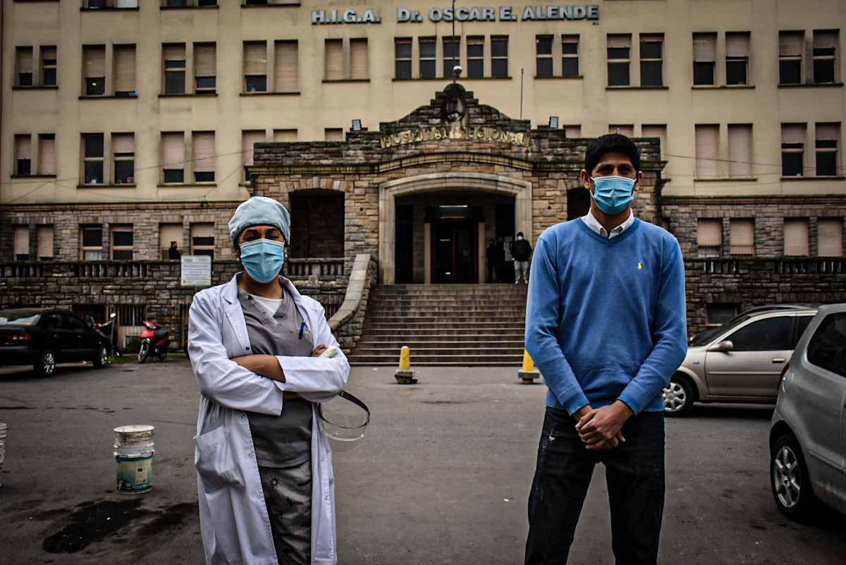 """Coronavirus: """"La realidad del hospital público es que está colapsado"""""""