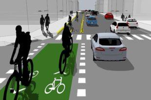 El gobierno proyecta construir la primera red de ciclovías en Mar del Plata