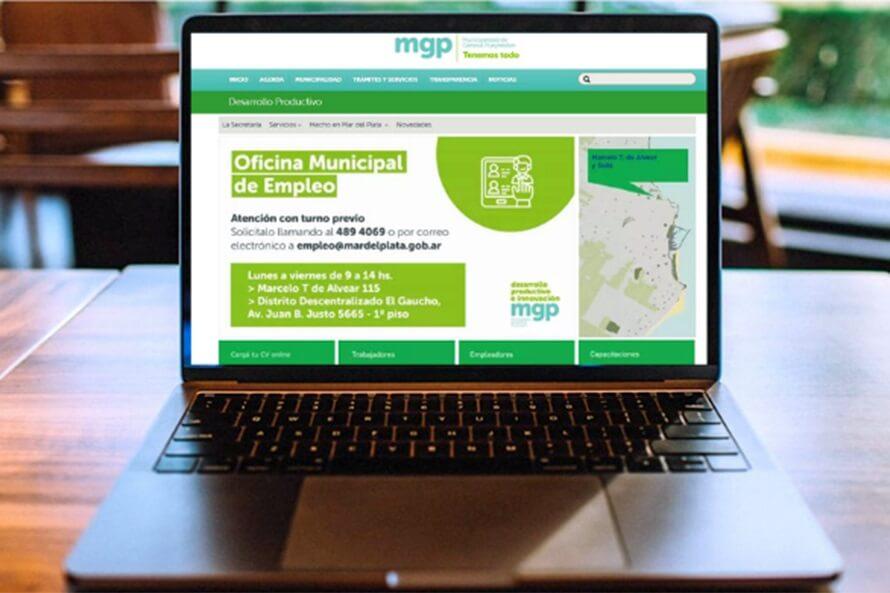 Trabajo en Mar del Plata: la Oficina de Empleo permite cargar currículums on line