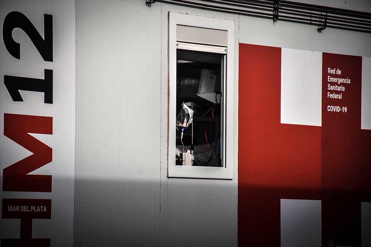 Coronavirus: dos nuevas muertes en el HIGA y en el hospital modular