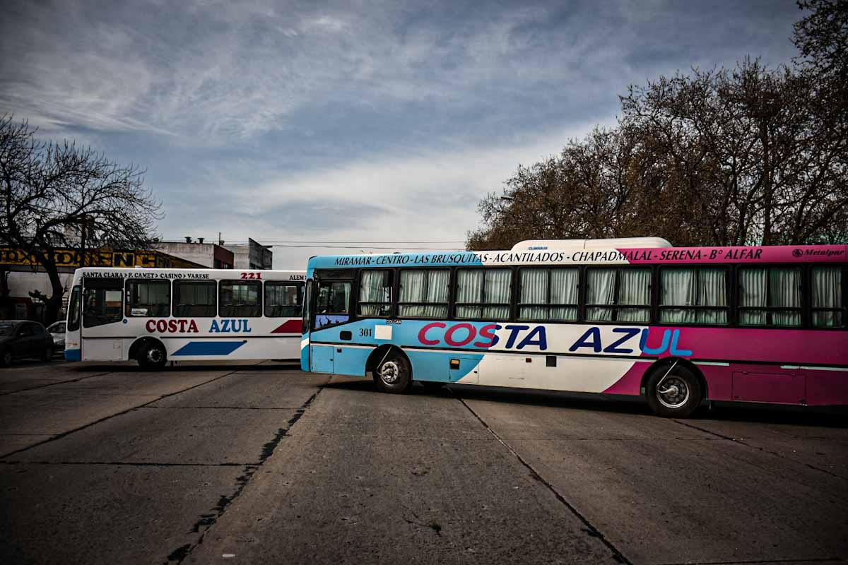 La línea 221 y la empresa Costa Azul empezarían a funcionar el martes