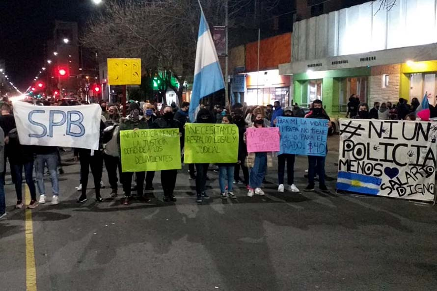 Policía Bonaerense: tras los anuncios, cesó la protesta en Mar del Plata