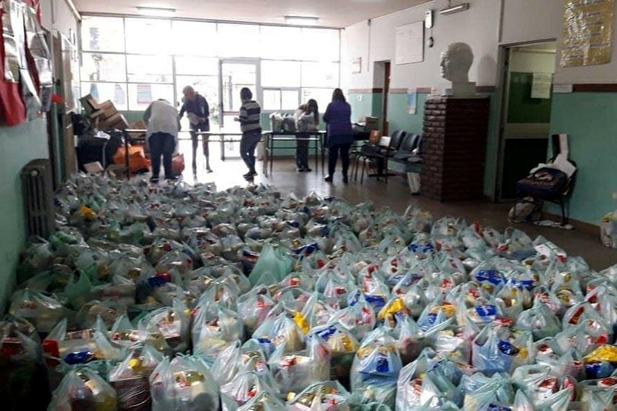 Servicio Alimentario Escolar: la entrega de módulos seguirá al menos hasta junio