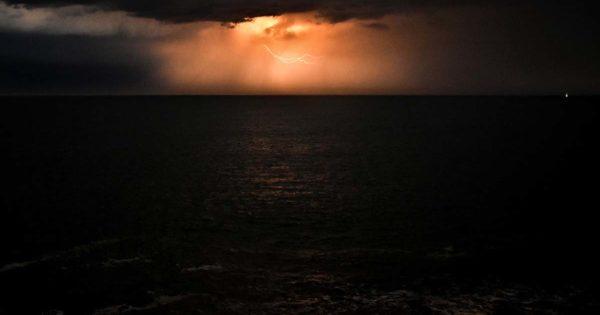 Emiten un alerta meteorológico por tormentas para Mar del Plata