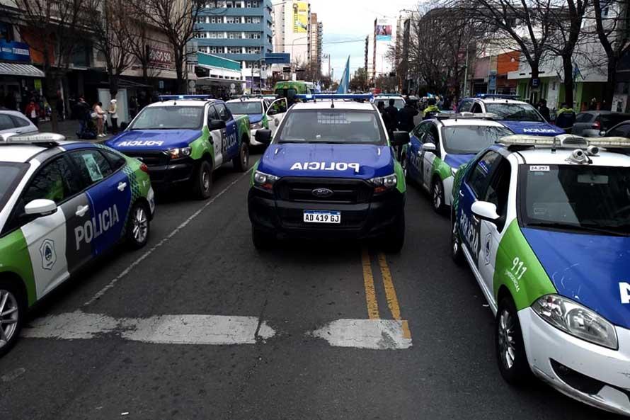 Por tercer día, la Policía Bonaerense volvió a manifestarse en Mar del Plata