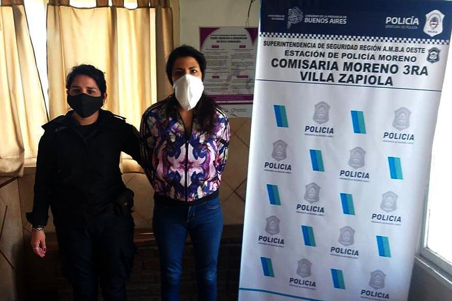 Femicidio de Jordana Rivero: detuvieronen Moreno a la mujer que estaba prófuga