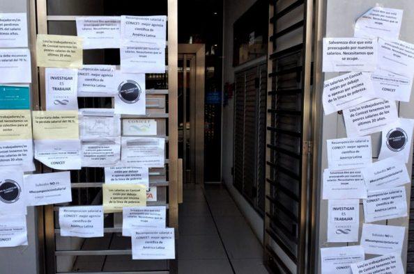 Otro paro en el Conicet, con reclamos salariales y presupuestarios al gobierno