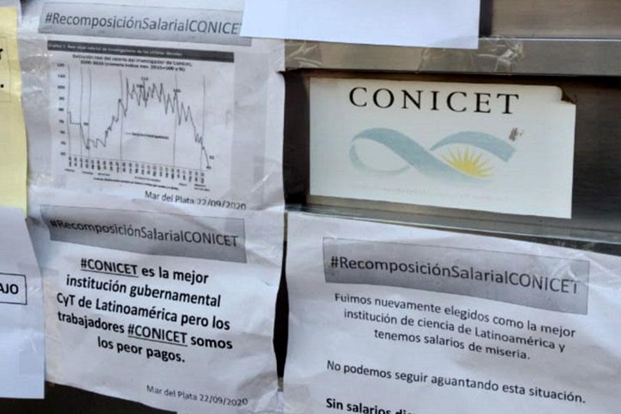 Trabajadores autoconvocados del Conicet Mar del Plata y un nuevo paro por 48 horas