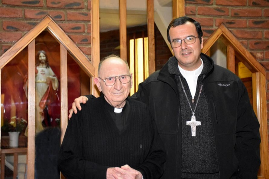 Coronavirus: confirman el fallecimiento del padre Miguel Alú