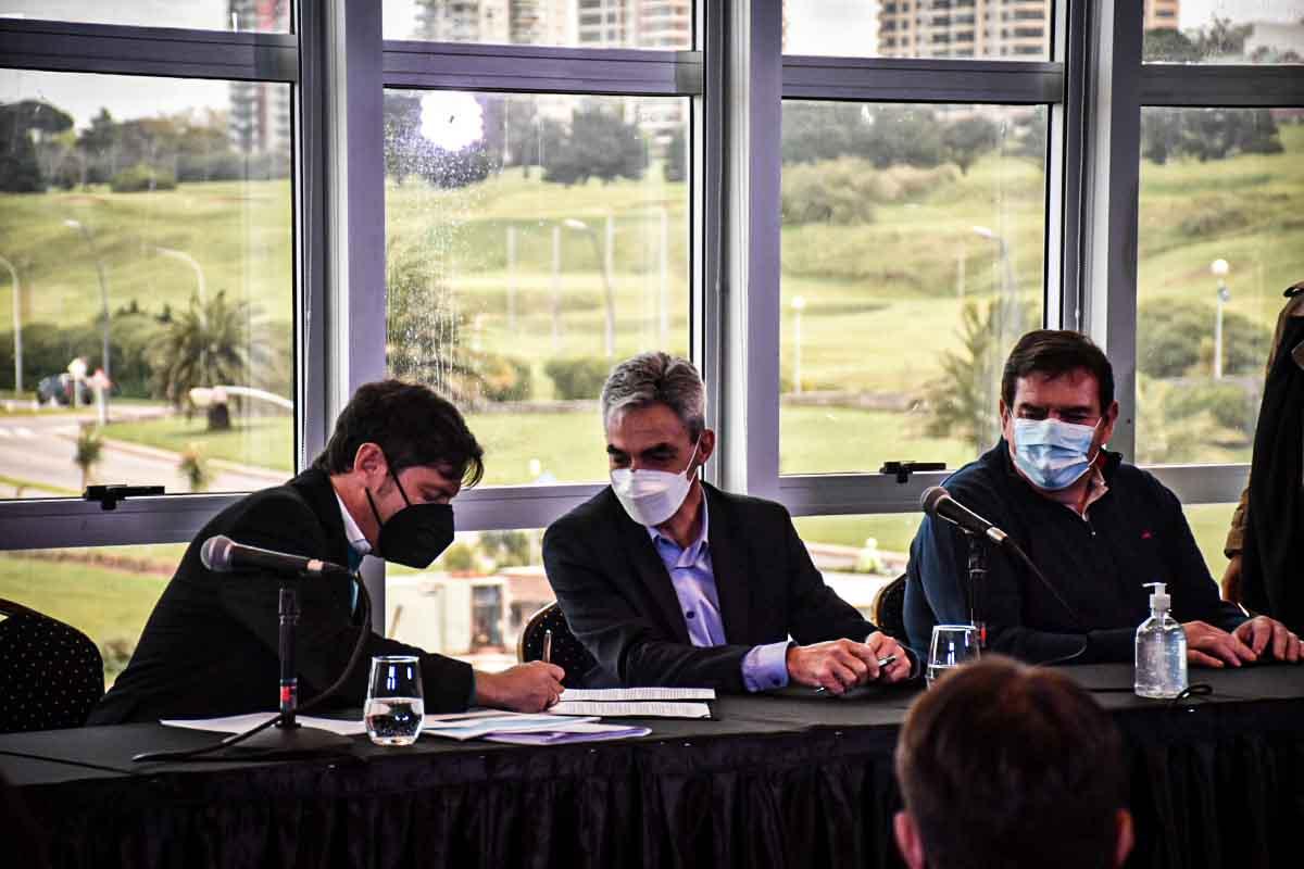 """Firmaron el convenio para financiar el dragado del Puerto: """"Es una inversión central"""""""