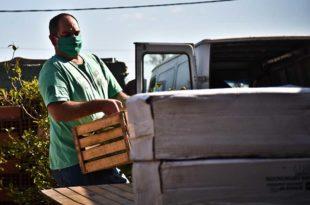 El municipio restituye parcialmente la entrega de alimentos a los comités barriales