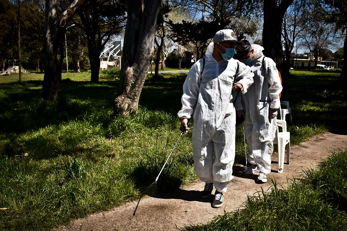 Coronavirus: este viernes harán testeos en el barrio Nuevo Golf