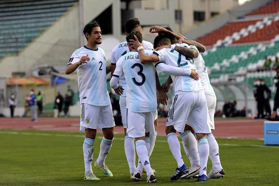 La Selección Argentina consiguió tres puntos importantes en su visita a La Paz