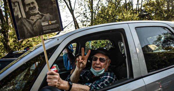 En el Día de la Lealtad Peronista, una caravana por el centro de Mar del Plata