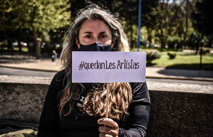 PROTESTA CULTURA TREATRO ARTISTAS -09