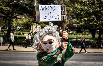PROTESTA CULTURA TREATRO ARTISTAS -14