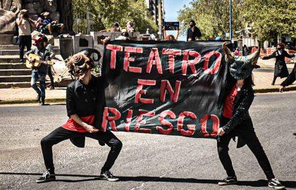PROTESTA CULTURA TREATRO ARTISTAS -21