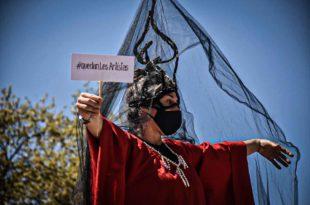 """""""La cultura en la calle"""", un festival con reclamos al gobierno municipal"""