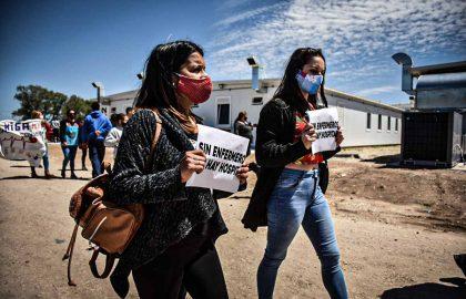 PROTESTA RECLAMO ENFERMERIA HIGA MODULAR CORPNAVIRUS PERSONAL DE SALID -85
