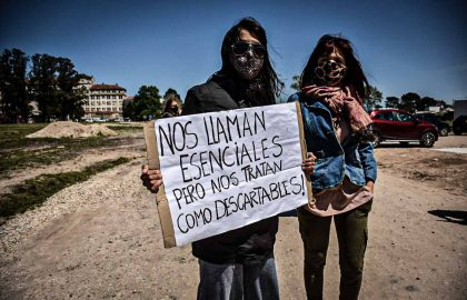 PROTESTA RECLAMO ENFERMERIA HIGA MODULAR CORPNAVIRUS PERSONAL DE SALID -91